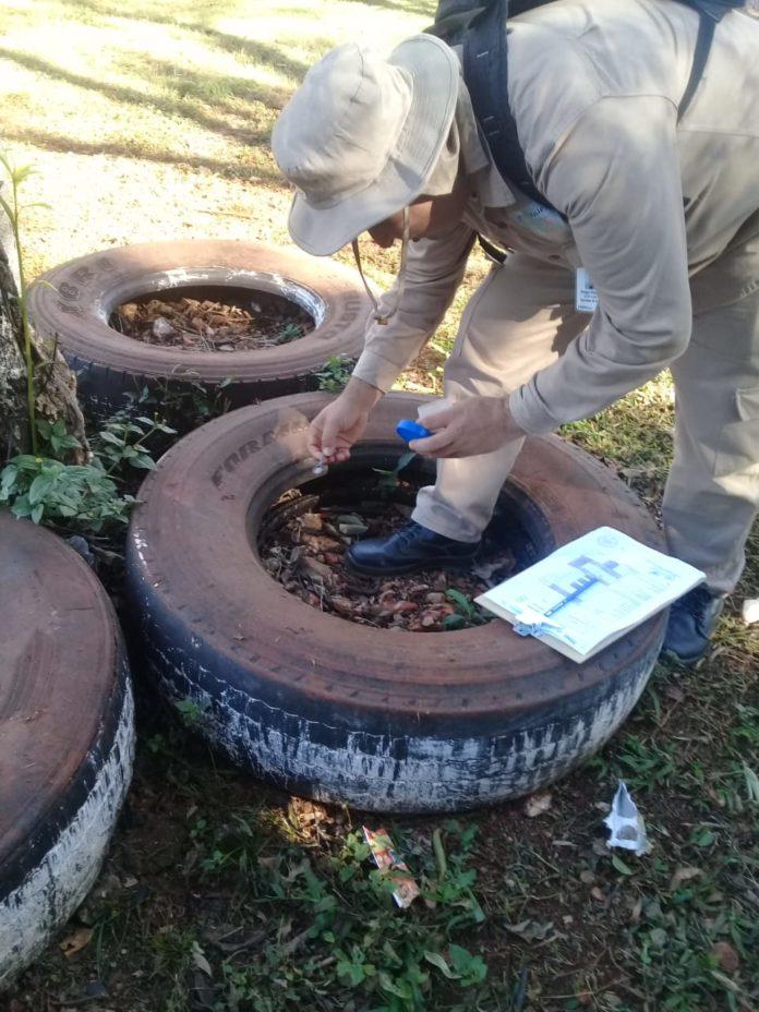 El objetivo de la campaña es eliminar drásticamente las fuentes de propagación del mosquito transmisor del dengue en el décimo departamento.