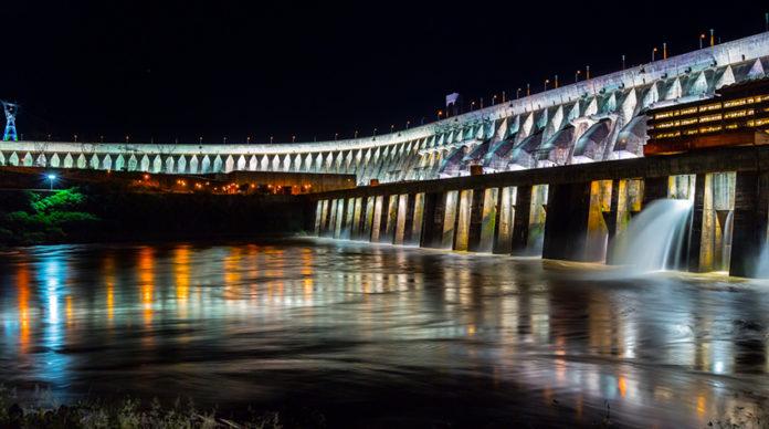 Hidroeléctrica Itaipú. Foto cdeturismo.com.py